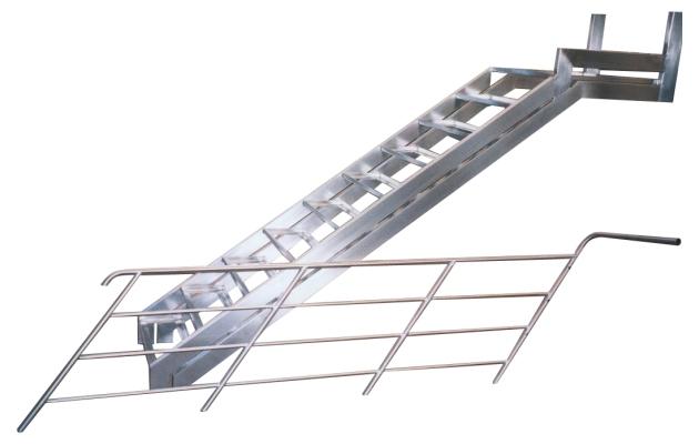 Cassetta della posta in acciaio tavoli in acciaio - Scale in ferro per esterno ...